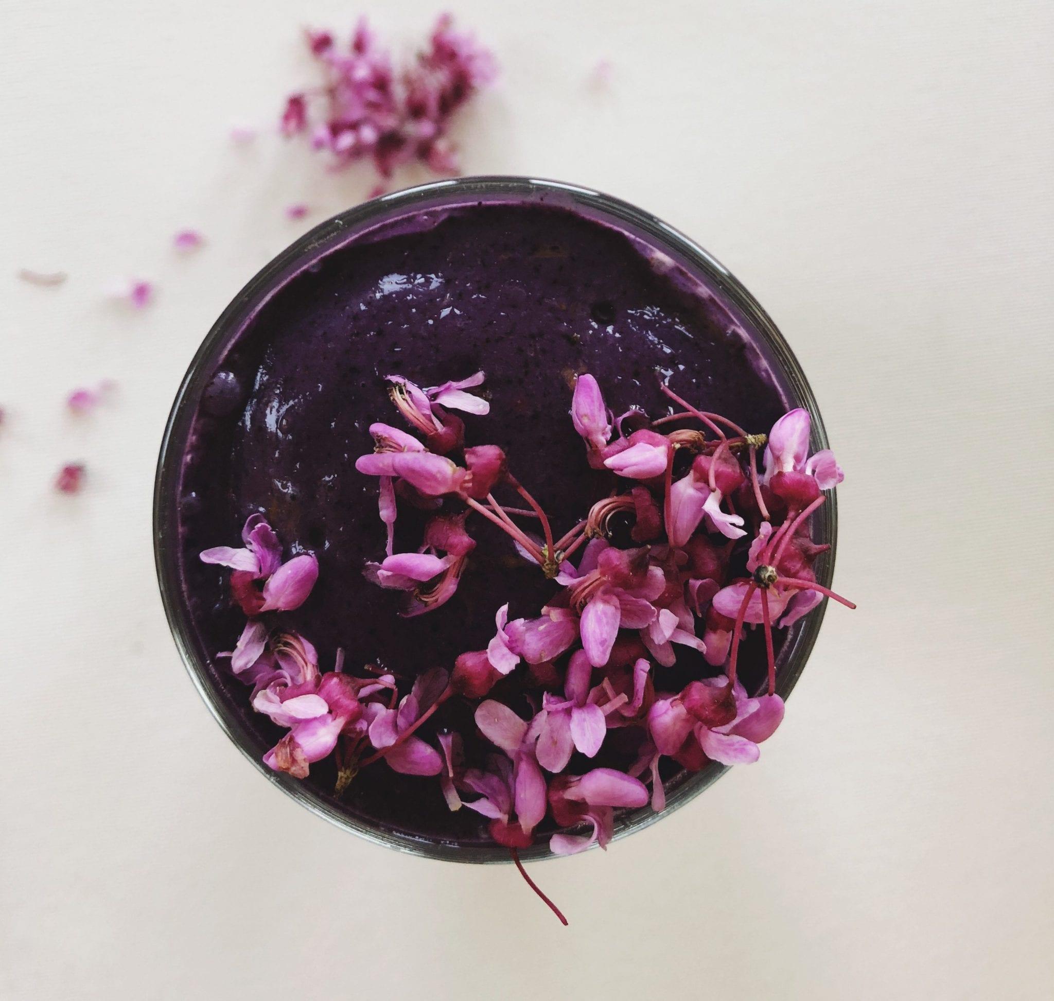 Blueberry Tart Adaptogenic CBD Smoothie | Soul Addict CBD