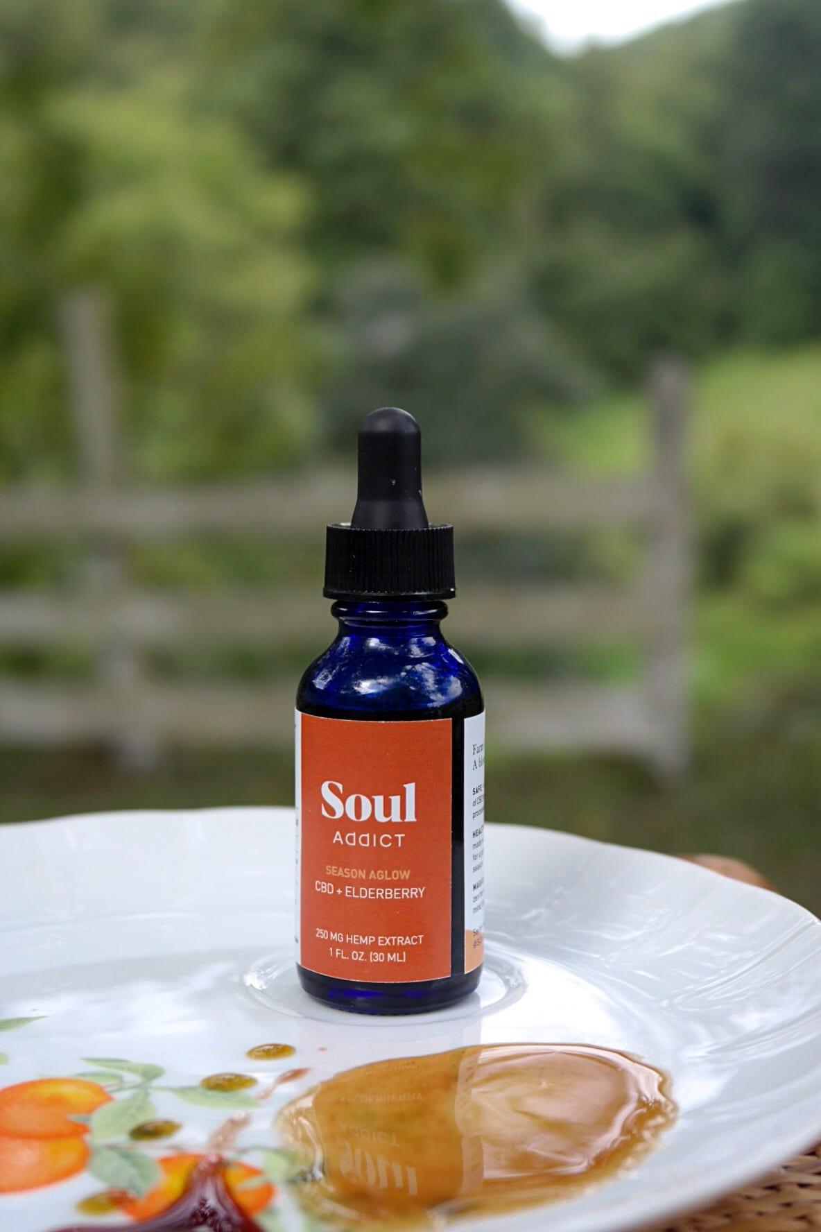 Soul Addict Elderberry + Manuka CBD Elixir